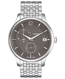 Tissot Men's Swiss Tradition Stainless Steel Bracelet Watch 42mm T0636391106700