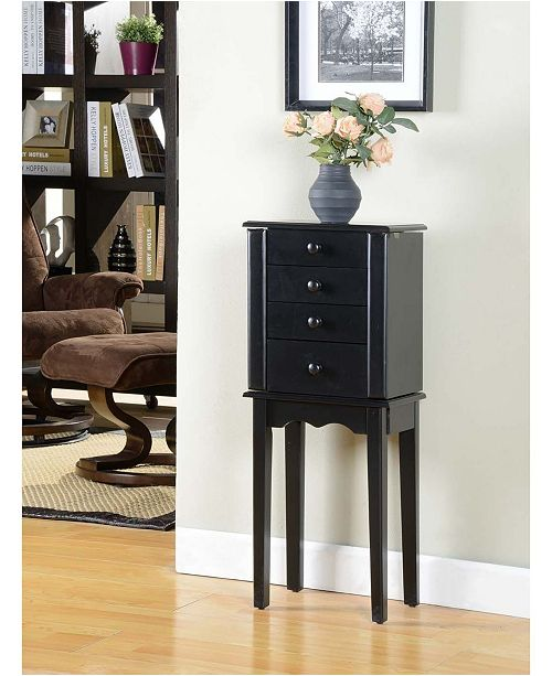 Nathan Direct Promo Collection 3-Drawer Jewelry Armoire,
