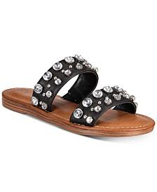ZigiSoho Kalysta Embellished Flat Sandals