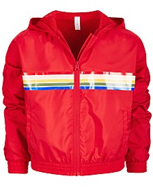 Ideology Big Girls Striped Windbreaker, Created for Macy's