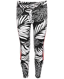 Ideology Big Girls Striped Caged Leggings, Created for Macy's
