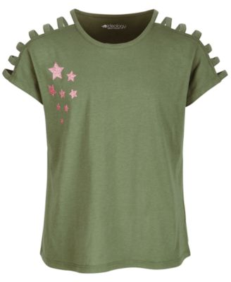 Big Girls Strappy T-Shirt, Created for Macy's
