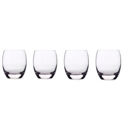 Glassware, Set of 4 Crescendo Double Old-Fashioned Glasses