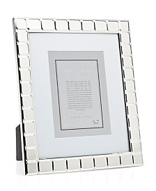 Philip Whitney Silver Cushion Frame - 8x10