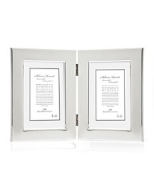 Philip Whitney Silver Double Frame - 4x6