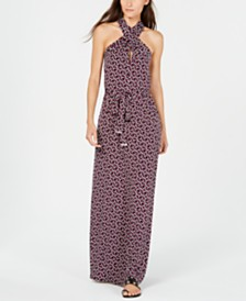 Michael Michael Kors Twisted Maxi Dress