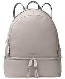 MICHAEL Michael Kors Rhea Pebble Leather Backpack