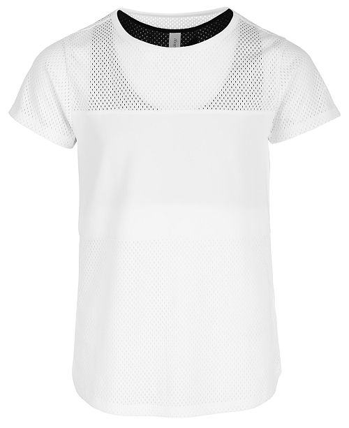 Ideology Big Girls Active Layered-Look T-Shirt, Created for Macy's