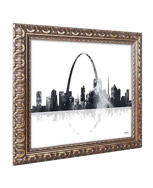 Home Decor Liquidators St Louis: Trademark Global Marlene Watson 'St Louis Missouri Skyline