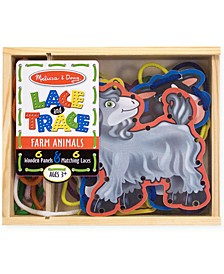 Kids Toys, Farm Animals Lace and Trace Panels