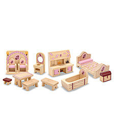 Melissa and Doug Kids Toys, Princess Castle Furniture Set