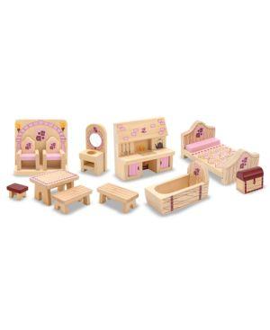 Melissa and Doug Kids Toys, Princess Castle Furniture Set