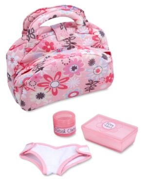 Melissa and Doug Kids Toys,  Doll Diaper Bag Set