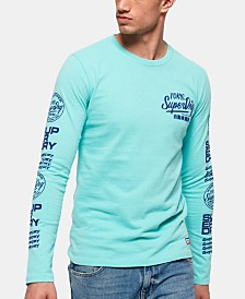 Superdry Men's Ticket Type Graphic Long-Sleeve T-Shirt