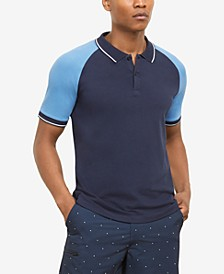 Men's Colorblocked Polo