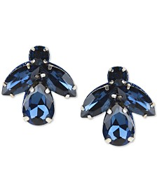 Deepa Crystal Cluster Stud Earrings