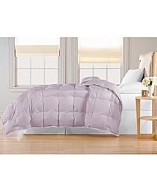 Oversized White Goose Down Comforter, King