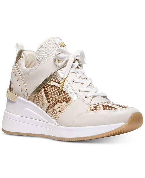 0f346395 Georgie Trainer Wedge Sneakers