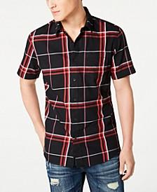 Men's Mack Regular-Fit Plaid Shirt, Created for Macy's