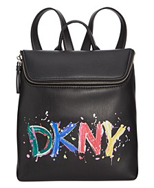 Tilly Logo Paint Backpack, Created for Macy's