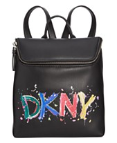 15135d425 DKNY Tilly Logo Paint Backpack, Created for Macy's