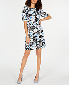 Alfani Floral-Print Sheath Dress, Created for Macy's