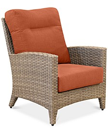 Grand Stafford Outdoor Club Chair with Sunbrella® Cushions