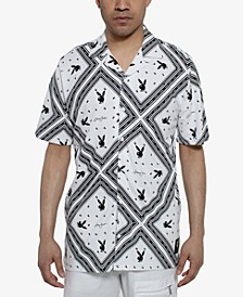 Men's Playboy Bunny Camp Shirt