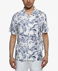 Men's Greek God Printed Shirt
