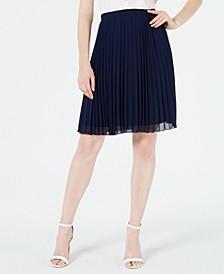 Sunburst-Pleat Skirt