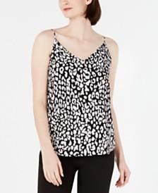 Calvin Klein Printed Strappy Camisole
