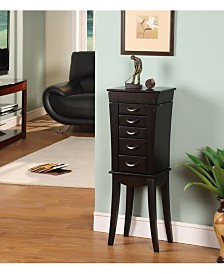 Nathan Direct Eiffel Tower 5-Drawer Jewelry Armoire