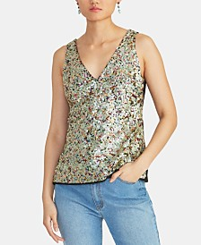 RACHEL Rachel Roy Bona Sequined Top