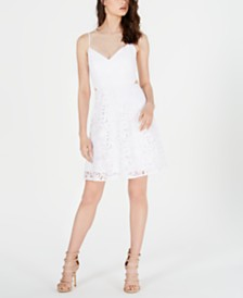 GUESS Juniors' Leora Lace Dress