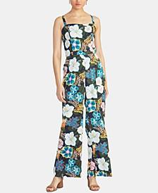 Zandra Floral-Print Jumpsuit