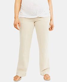 Motherhood Maternity Wide-Leg Pants