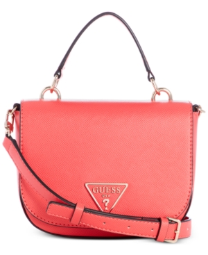 Guess Carys Mini Crossbody In Passion/Gold