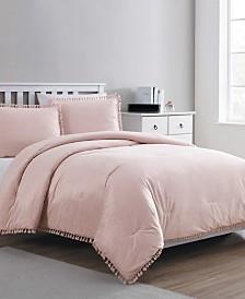Giselle Velvet Tassel 2-Pc. Twin XL Comforter Set