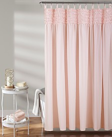 "Lydia Ruffle 72"" x 72"" Shower Curtain"
