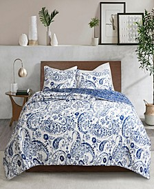Erindale 3Pc Full/Queen Quilt Set