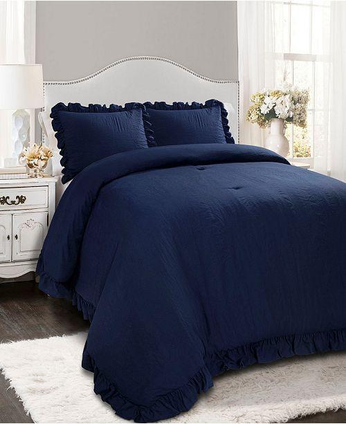 Lush Decor Reyna 3-Pc. Full/Queen Comforter Set