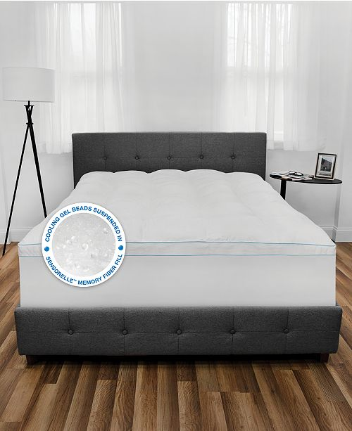 SensorGel Cool Fusion Twin Fiberbed with Cooling Gel Beads