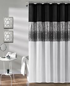 "Night Sky 72"" x 72"" Shower Curtain"