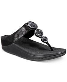 Halo Toe-Thong Sandals