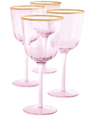 Blush All-Purpose Glasses, Set of 4, Created for Macy's