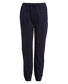 Little Boys Evan Tapered-Fit Stretch Joggers with Reinforced Knees