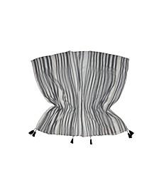 Multi Stripe Weave Wrap