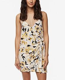 Juniors' Brandon Wrap-Front Dress