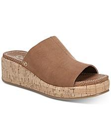 Sylvia Wedge Sandals