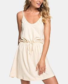 Roxy Juniors' Isla Vista Cotton Drawstring Dress